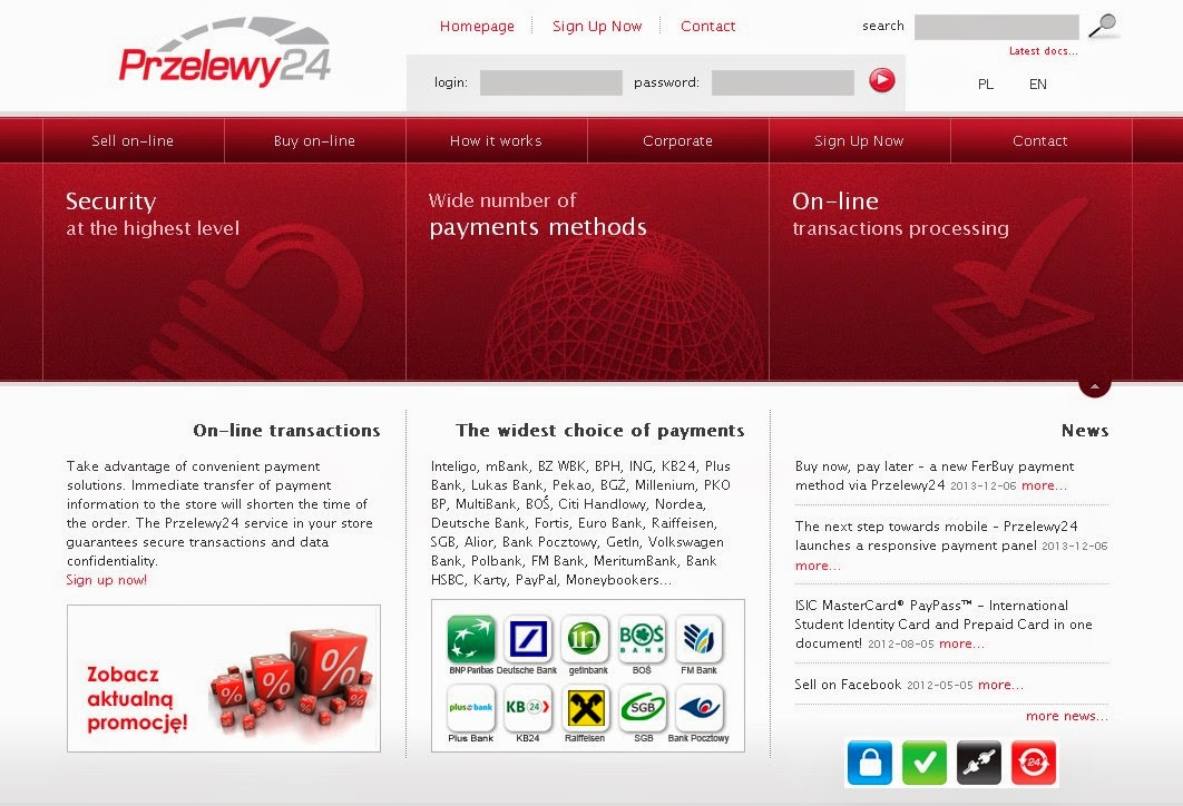 Przelewy24 Screen