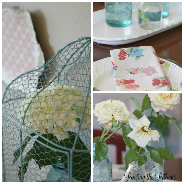 summer kitchen, summer decor