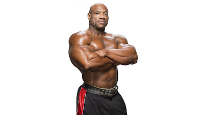 "Dexter ""The Blade"" Jackson is an American IFBB Professional Bodybuilder"