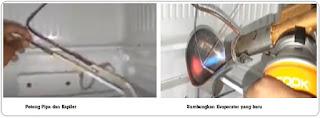 penggantian evaporator