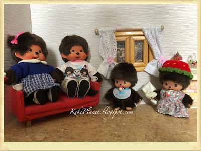 kiki monchhichi father's day fête pères cute toys life kidult