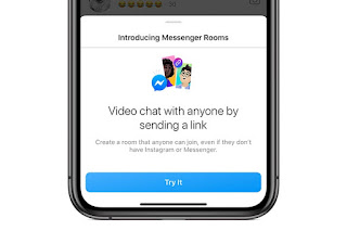 Instagram Messenger Rooms