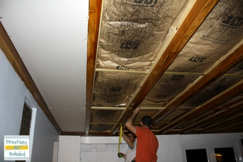refinishing an exposed beam ceiling - part 1 * Directions ...