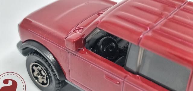 2021 Ford Bronco Tampak Samping