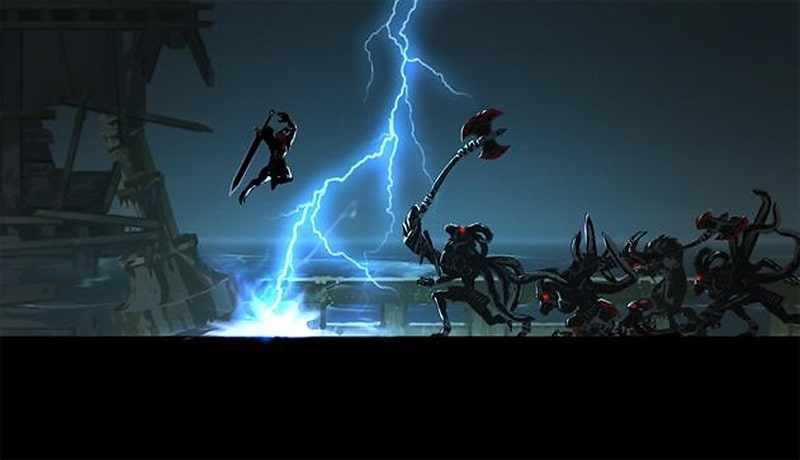 تحميل افضل لعبة قتالrpg  ار بي جي  shadow of the death 2 للاندرويد