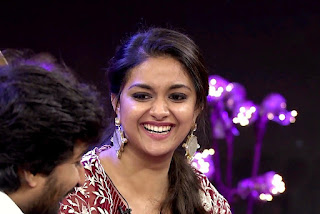 Keerthy Suresh with Cute and Lovely Smile in No1 Yaari
