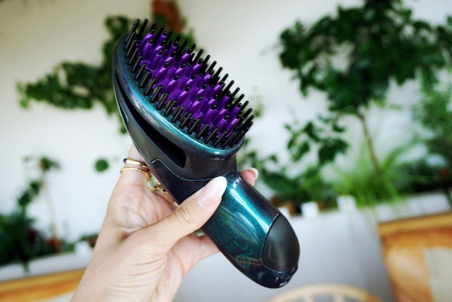 the allure portable cordless straightner by dafni