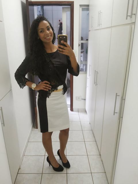 Look do dia P&B