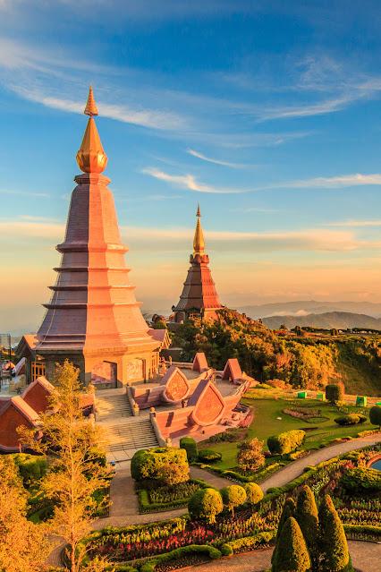 Пагода в национальном парке Интанон