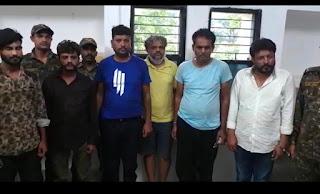 नक्सलियों को विस्फोटक और हथियार सप्लाई करने वाले गिरोह के 08 सदस्य गिरफ्तार