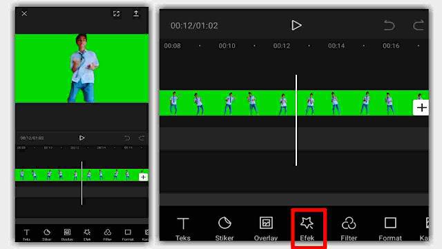 Cara Zoom Video Menggunakan Efek di CapCut