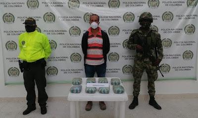 hoyennoticia.com, Sorprendido con cuatro kilos de marihuana