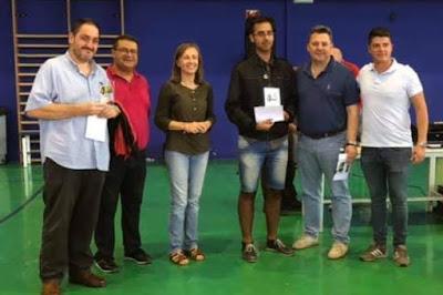 BREVES: Huercal Overa (Almería), podium de LM Campos y Granero
