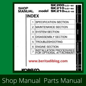 Shop Manual SK200lc-6E sk210lc-6E