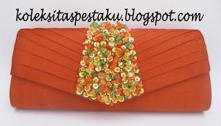 Tas Pesta Dompet Pesta Clutch Bag Oren Bata