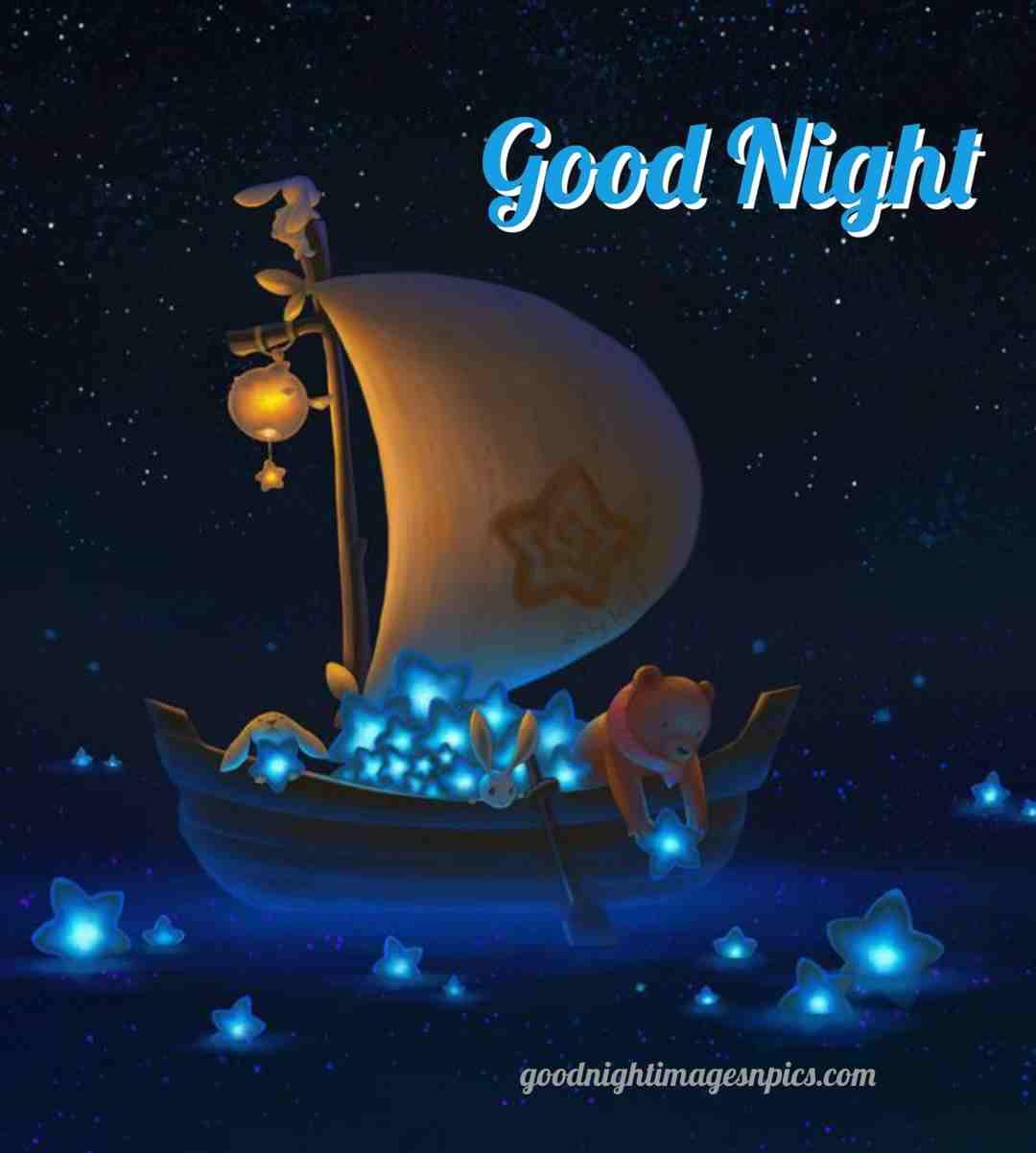 Good night GIF imnage for whatsap