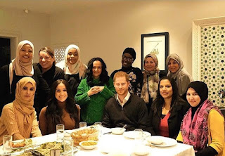 Meghan Markle and Prince Harry recivised the Hubb Community Kitchen