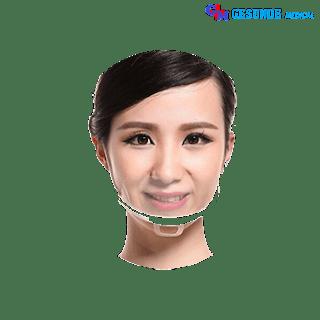 Masker Transparan Mulut Dan Hidung