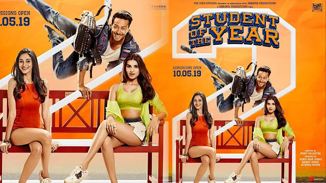 student of the year 2 Movie 2019 Full HD download Tamilmv, Hindilinks4u, FilmyHit, 9xmovies Bollywood movie, Songs, Download