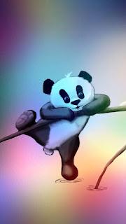 Wallpaper whatsapp panda HD
