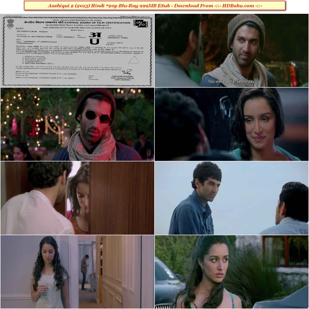Aashiqui 2 Full Movie Download
