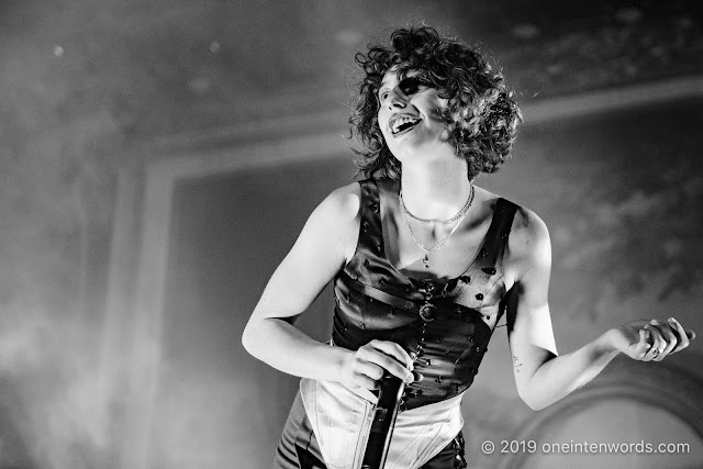 King Princess at Rebel on October 28, 2019 Photo by John Ordean at One In Ten Words oneintenwords.com toronto indie alternative live music blog concert photography pictures photos nikon d750 camera yyz photographer
