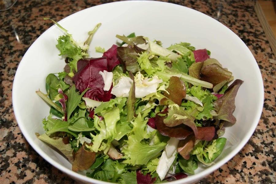 receta de ensalada BIO paso 1