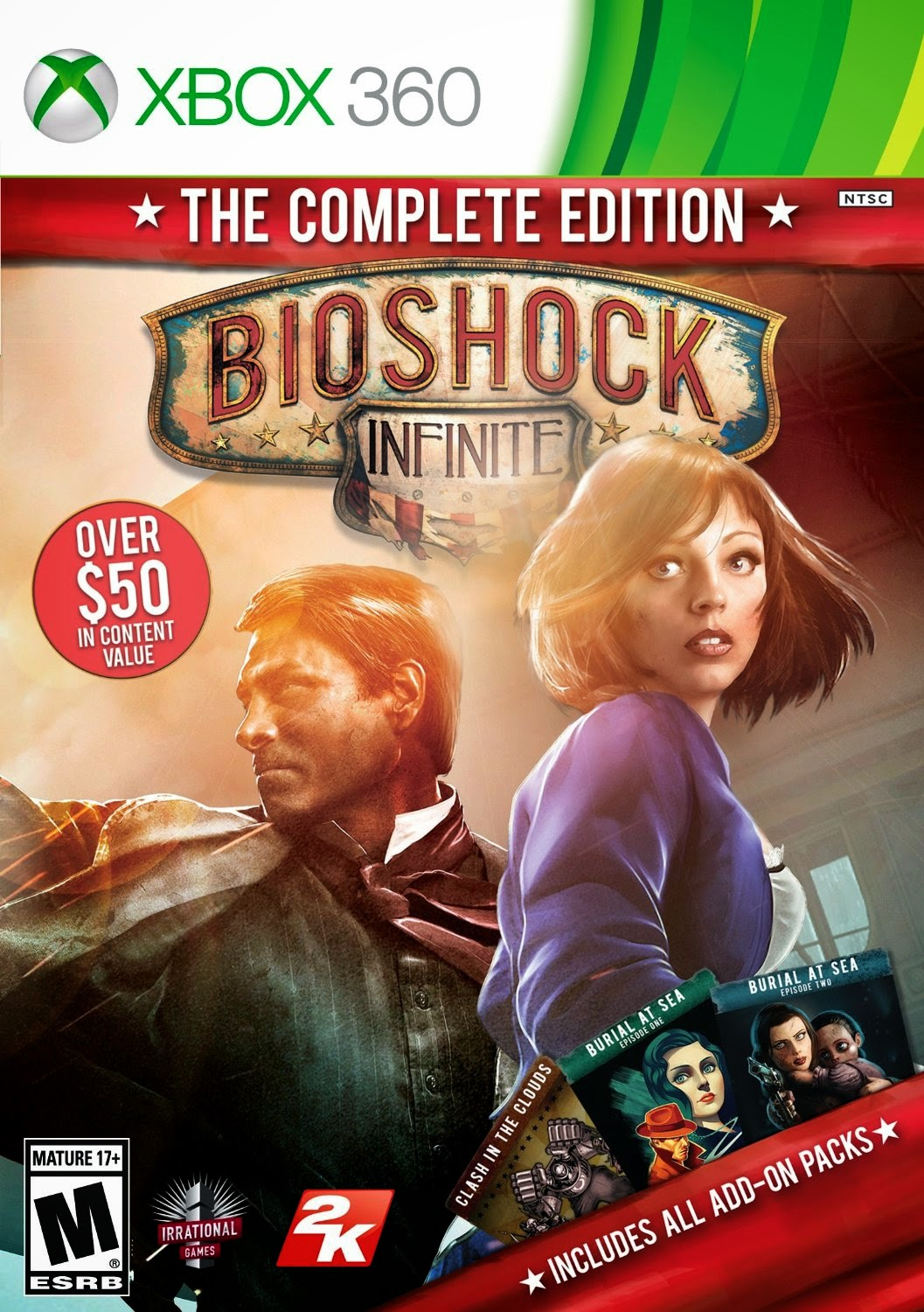 Bioshock Infinite The Complete Edition XBOX 360 Cover Caratula