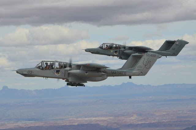 Blue Air Training acquires legendary OV-10 Broncos to support JTAC training missions