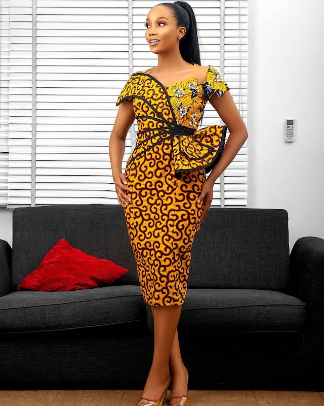Trendy and Unique Ankara Short Gown Styles 2020.
