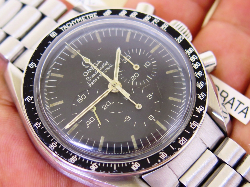 OMEGA SPEEDMASTER PROFESSIONAL CHRONOGRAPH MOONWATCH 42mm SOFT AGING DIAL PATINE INDEX - MANUAL 861