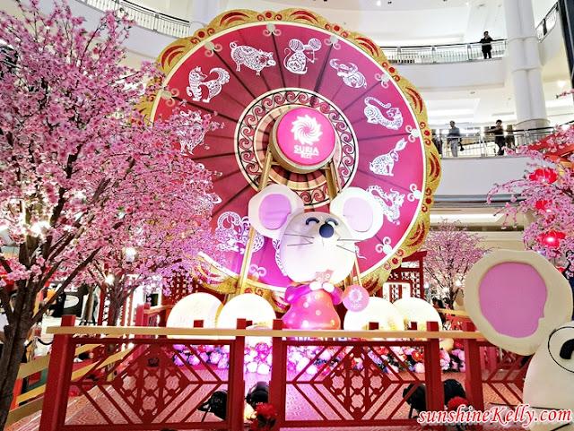 Suria KLCC, GReAT Lunar New Year, CNY 2020, Mall decor, CNY Mall decor, CNY decor
