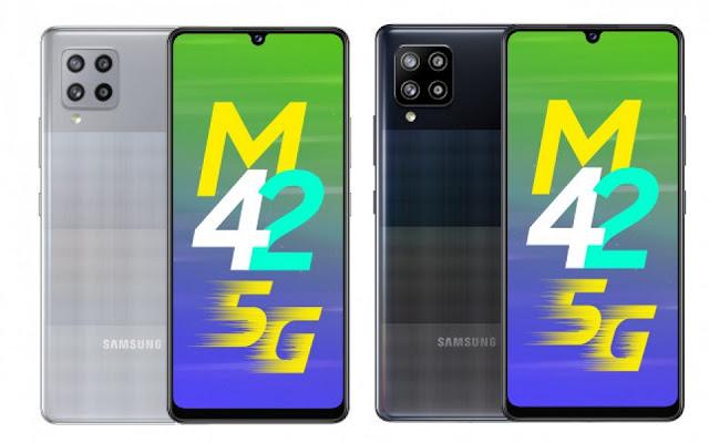 سامسونج Galaxy M42 أول جهاز في سلسلة M يستخدم إتصال 5G