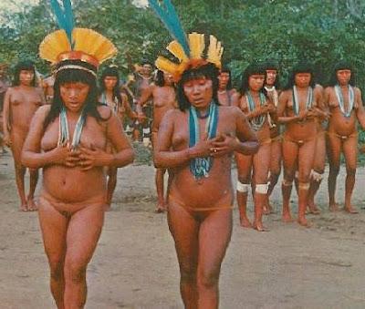 xingu tribe girls
