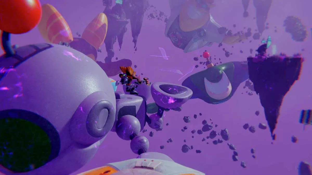 Finding Big Al, Qwark and Clank's balloons for the Ratchet & Clank Boing trophy: A Dimension Apart