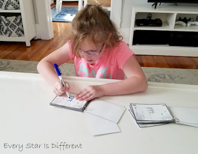 Spider Web Letter Practice