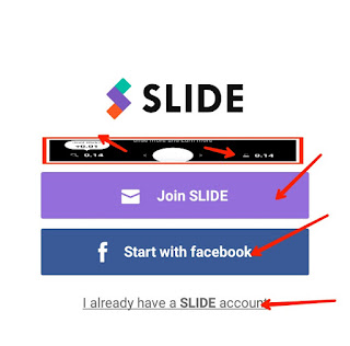 slide free recahrge and earn app sign up kare