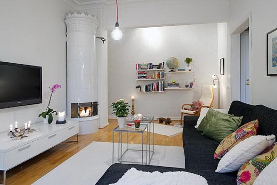 Hogares frescos soluciones inteligentes de dise o para un for Diseno de libreros para espacios pequenos
