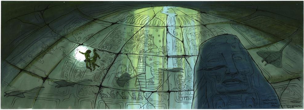 ricardo delgado s blog disney s atlantis underwater pantheon