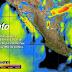 Para hoy se pronostican vientos fuertes en las costas de Baja California, Baja California Sur, Sonora y Sinaloa