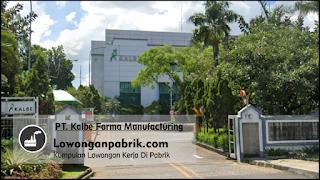 Lowongan Kerja Terbaru PT Kalbe Farma Tbk.