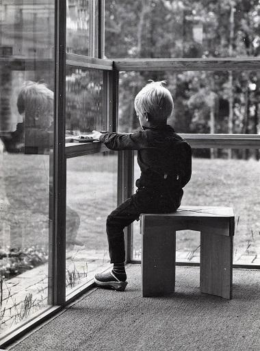 "Sverre Fehn, ""Villa Norrköping"", 1964. Photo Teigens fotoatelier"