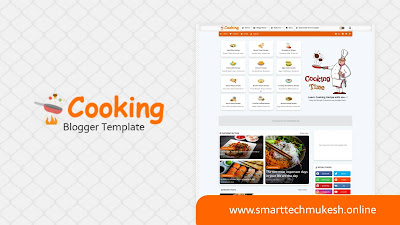 Cooking - Premium Responsive Blogger Template