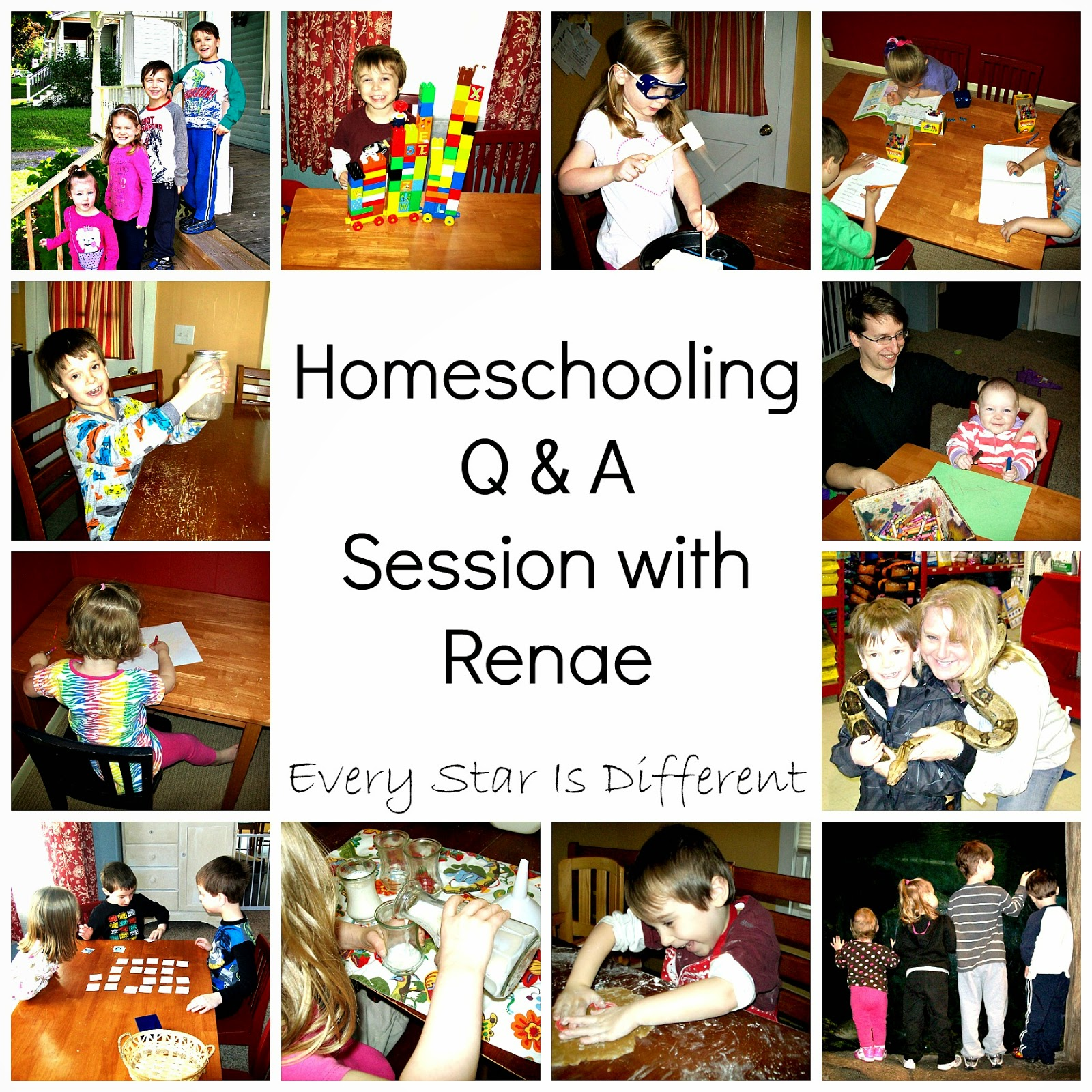 Homeschooling Question and Answer Session with Renae