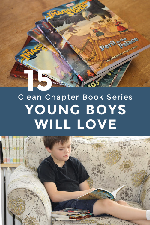 15 Clean Chapter Book Series Young Boys Will Love