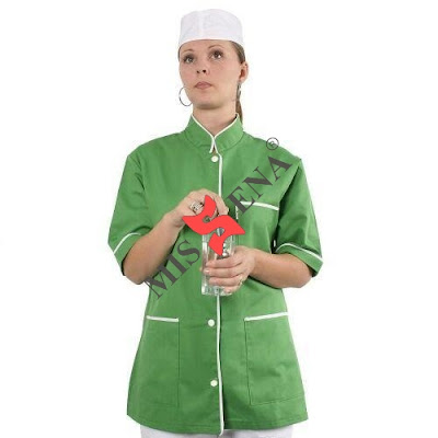halat medical verde