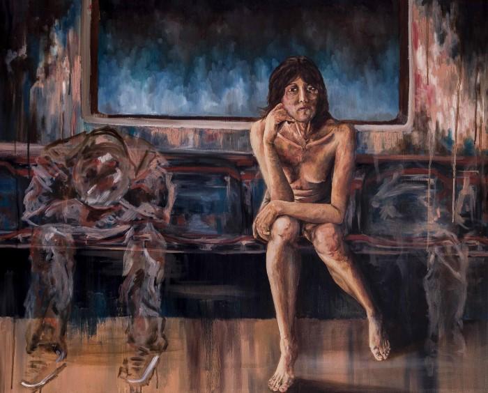 Мексиканский художник. Zoe Lunar