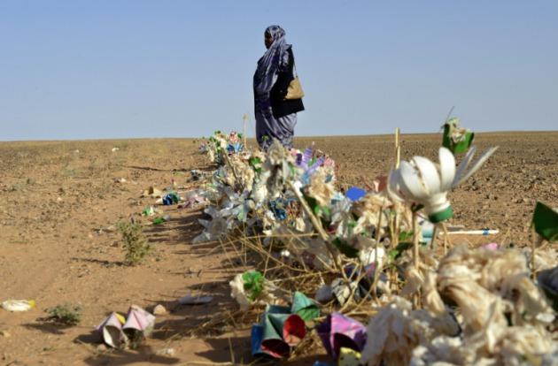Resultado de imagen de minas en el sahara occidental ecs