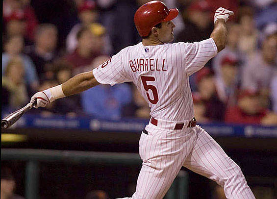 Pat Burrell wins Philadelphia Home Run Derby