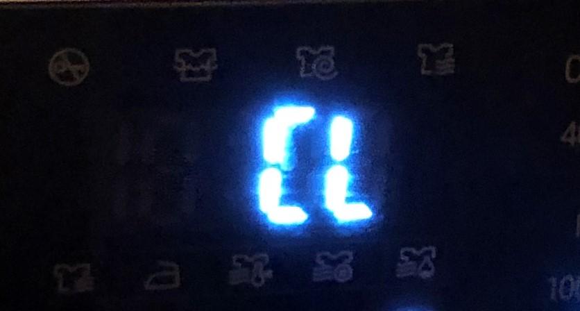 LG Waschmaschine Fehlercode CL